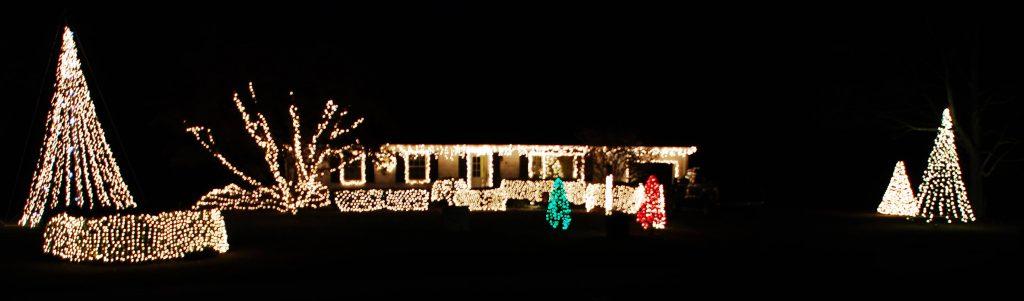 Stockton Drive-thru Christmas light show