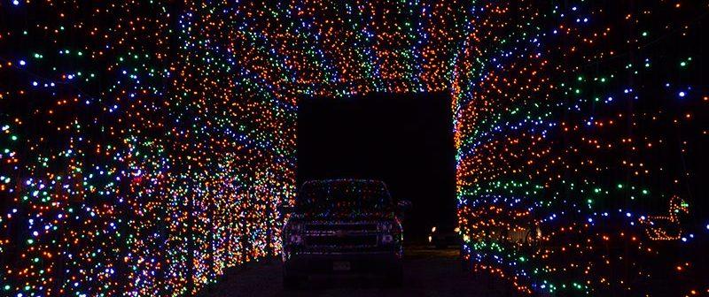 Skylands Drive-thru Christmas light show