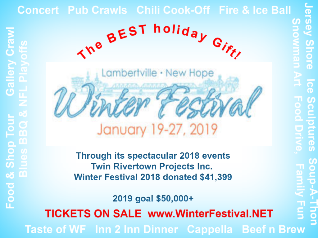 Lambertville-New Hope Winter Festival