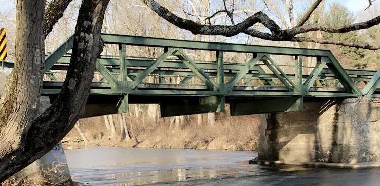 Wickecheoke Creek Preserve in Winter