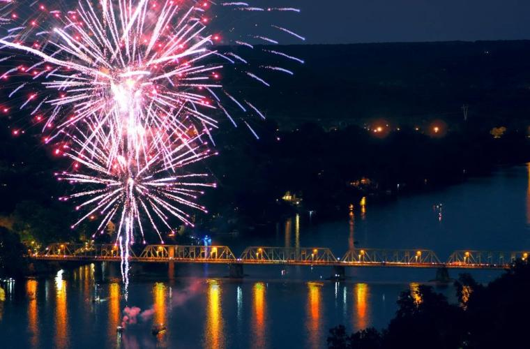 Delaware River Towns 4th of July