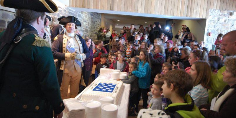George Washington's Birthday Party at Washington Crossing Historic Park on February 16, 12 PM to 4 PM