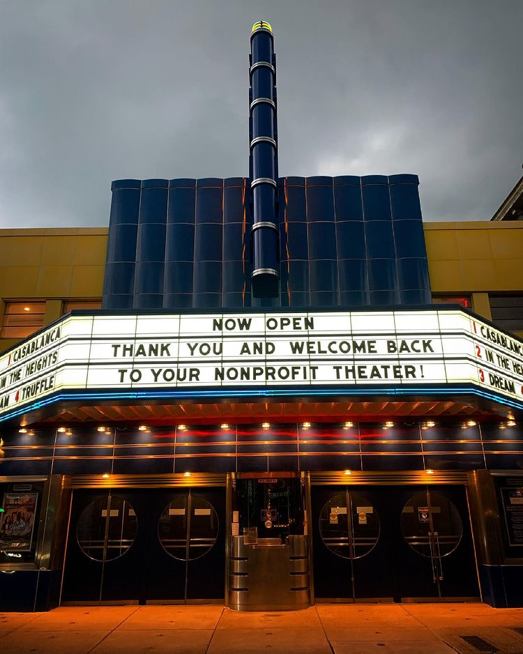 We Might Not Have Missed Movie Theaters, But We Missed the County Theater