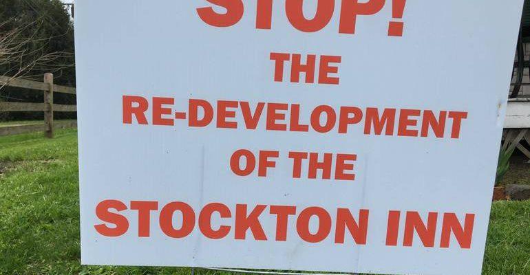 'Bold' Stockton Inn Proposal Dropped