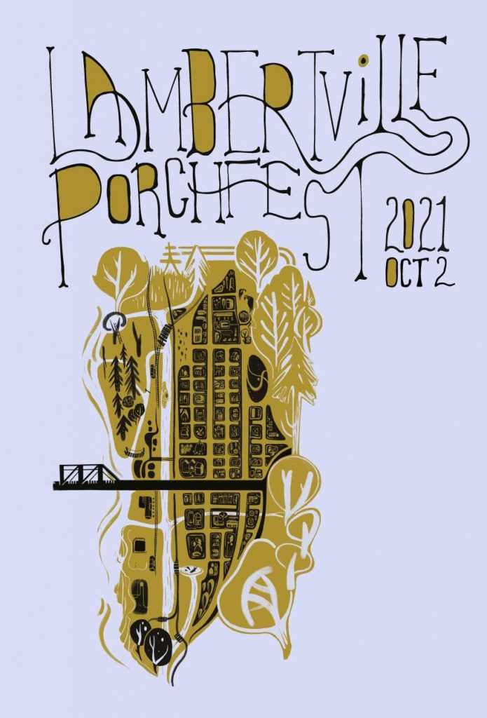 Porchfest flyer